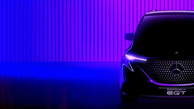 Mercedes-Benz EQT Concept ile yepyeni bir sınıfa giriş yapmaya hazırlanıyor