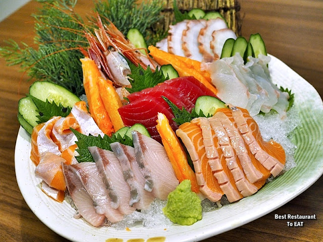 Tansen Izakaya 炭鲜居酒屋 Menu - GROUPER NABE SET - Sashimi Platter - 9 Kind