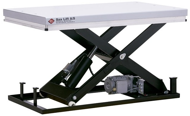 advantages saxlift lift tables business