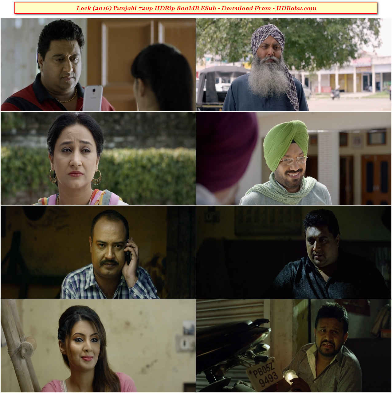Lock Punjabi 720p HDRip Full Movie Download