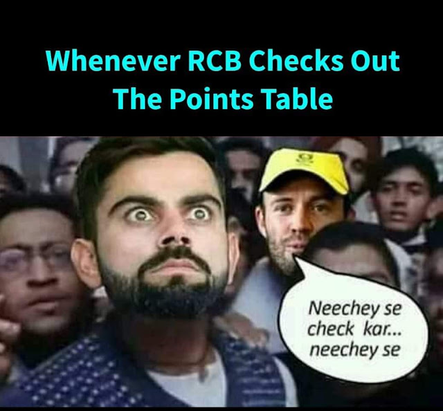 Virat kohli RCB jokes