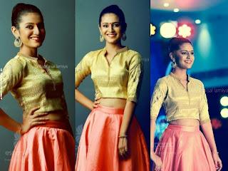 Priya Prakash Varrier Hot Navel
