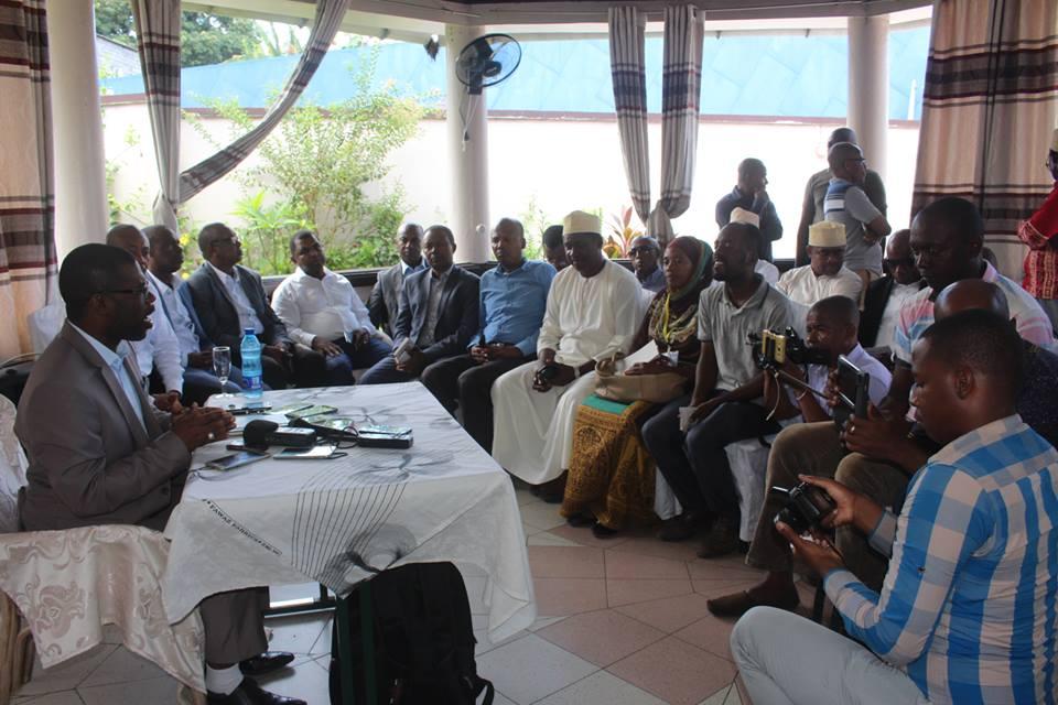 Dans un communiqué, l'Exécutif d'Anjouan affirme avoir voulu organiser une manifestation pacifique