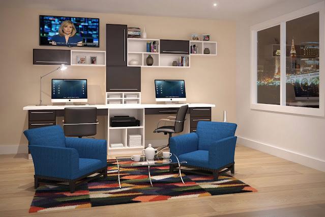 closet home office design ideas