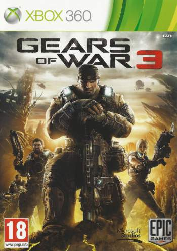 Gears of War 3 + DLCs (JTAG/RGH) Xbox 360 Torrent