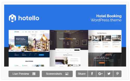 Download ⁠Hotello v1.3.3 - Hotel Booking WordPress theme
