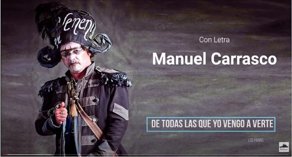 """💥Manuel Carrasco💥 y 💥Juan Carlos Aragón💥 con ✍LETRAS Pasodoble """"Los Parias"""""""