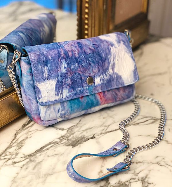 Sac Tie and Dye Lover by Margaux-Lou Maroquinerie