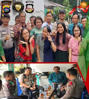 Polres Solok Kota Amankan Perayaan Natal di Kota Solok