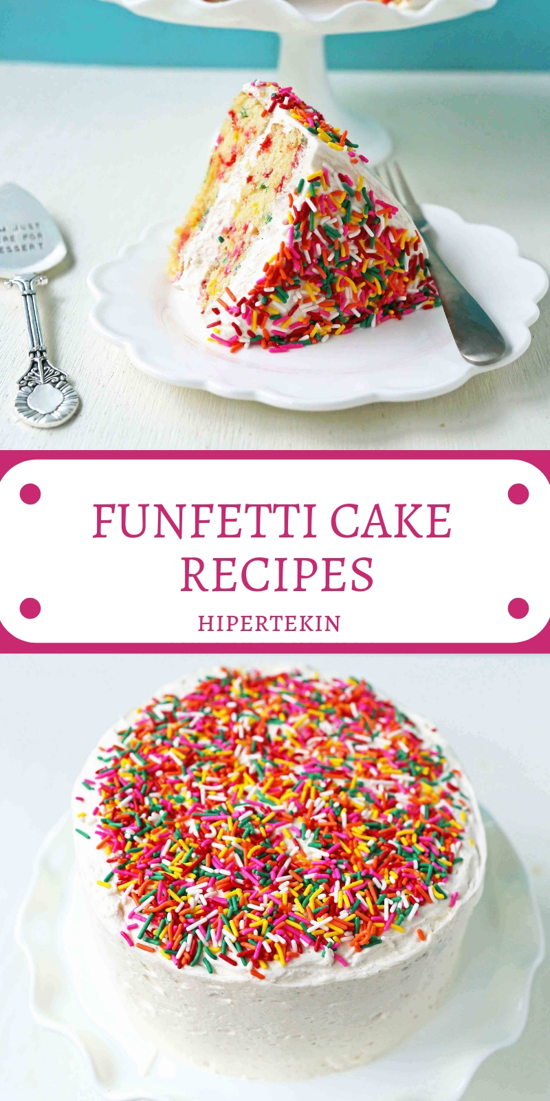 FUNFETTI CAKE RECIPES