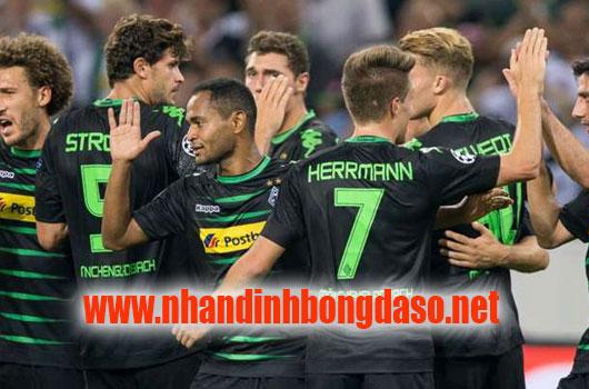 Monchengladbach vs Wolfsburg www.nhandinhbongdaso.net