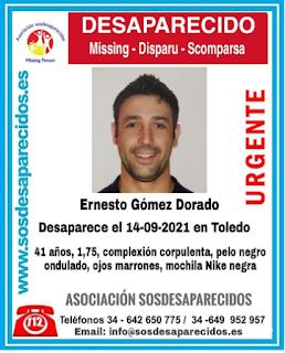 Localizado Ernesto Gómez Dorado. Blog Tu solución diaria