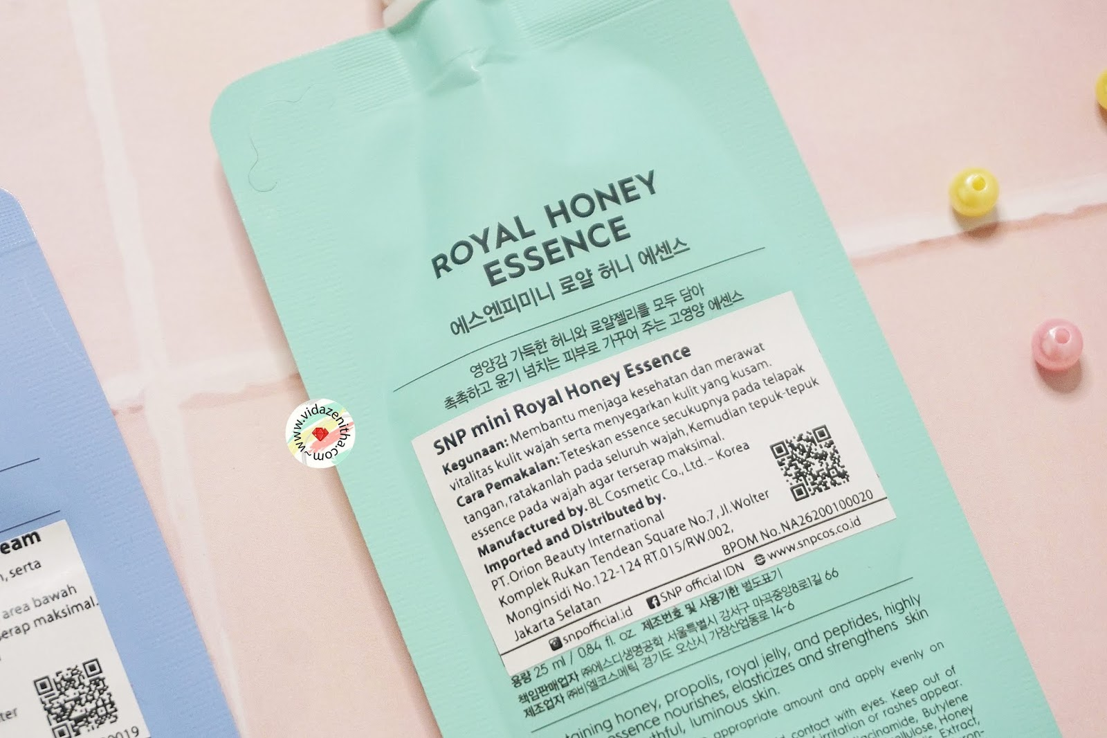 Review SNP Mini Royal Honey Essence rekomendasi essence korea
