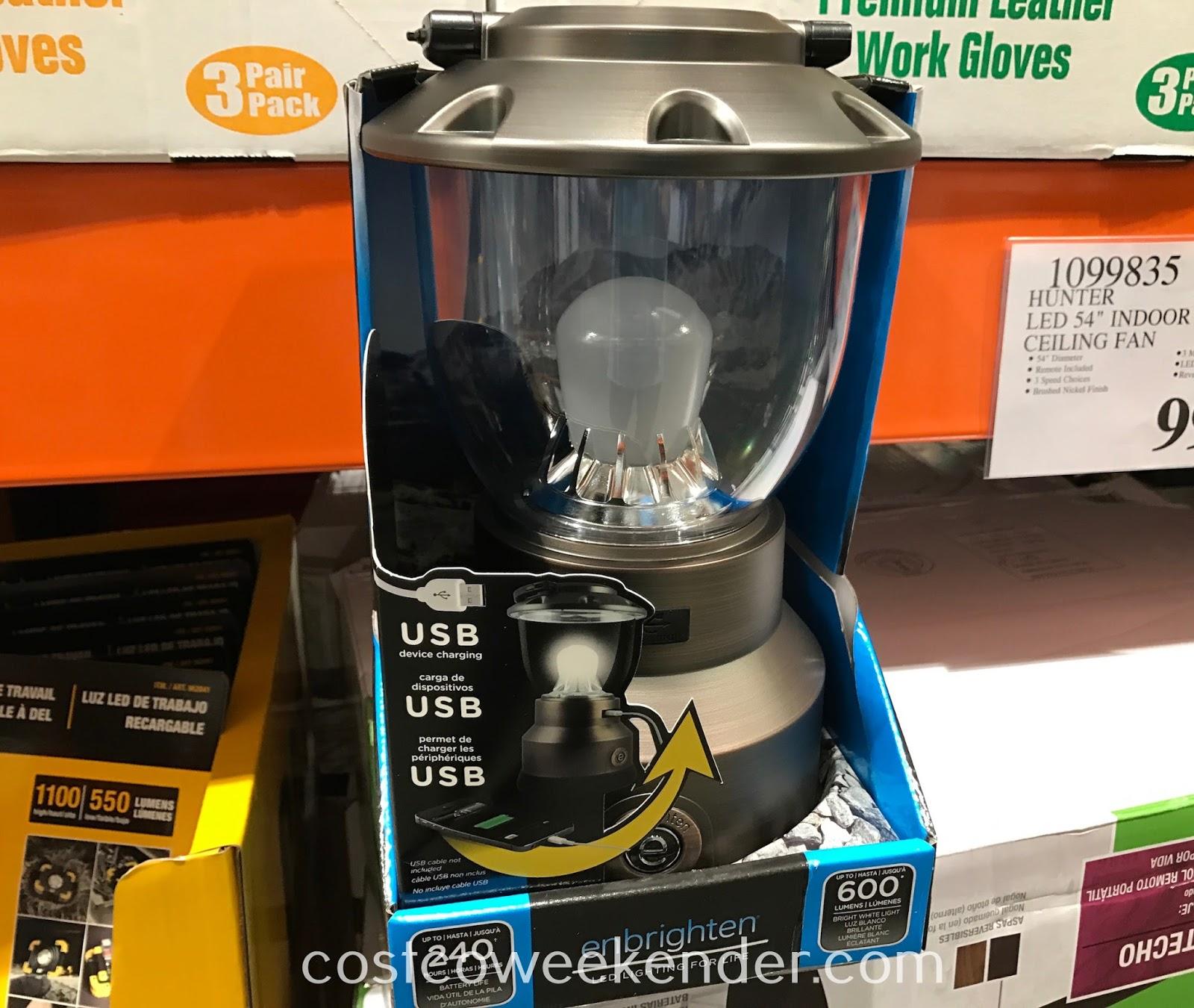 enbrighten led lantern costco weekender rh costcoweekender com