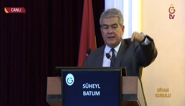 Süheyl Batum: Galatasaray'a asla boyun eğdiremediler. Asla da eğdiremeyecekler!