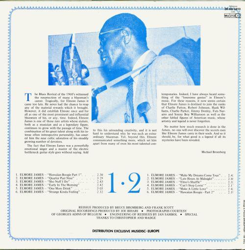 Elmore James - Anthology Of The Blues / The Legend Of Elmore James