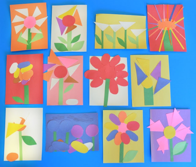Invitation to create flower garden what can we do with for Garden crafts for preschoolers