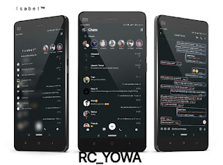 Dark Light Theme For RC WhatsApp & YOWhatsApp Download