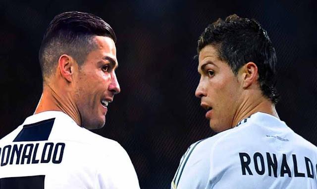 ronaldo cristiano juventus vs cristiano ronaldo real madrid ucl draw 2020