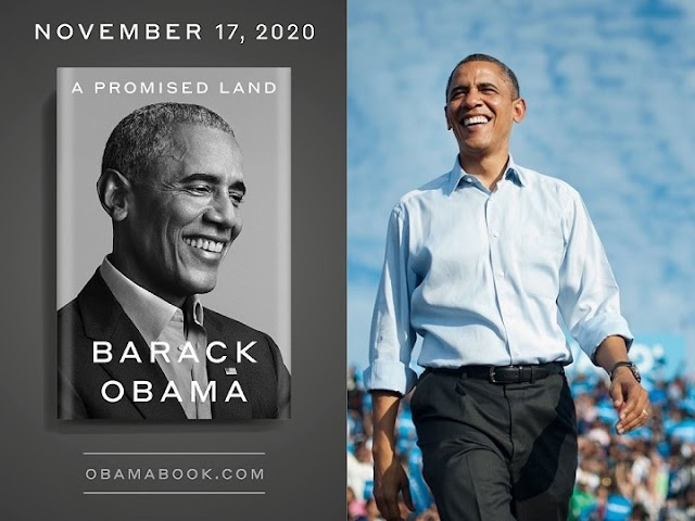 "Obama sells one million copies of his book ""Promised Land"" in a week"
