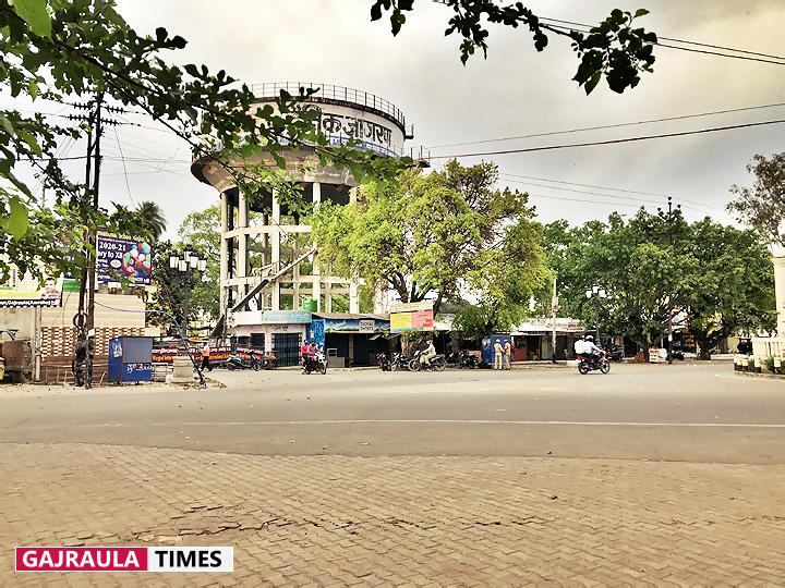 images-of-lockdown-in-gajraula