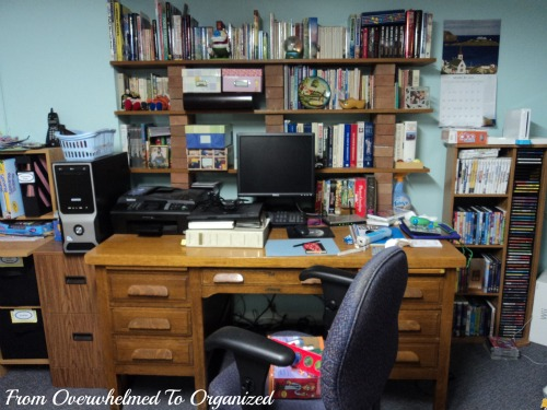 Tackling My Office This Month From Overwhelmed To Organized