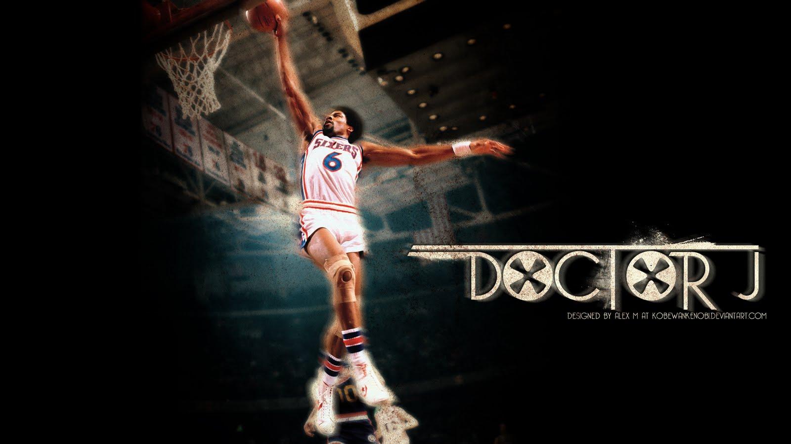 """Julius Erving, """"Doctor J""""   Basketball Guide"""
