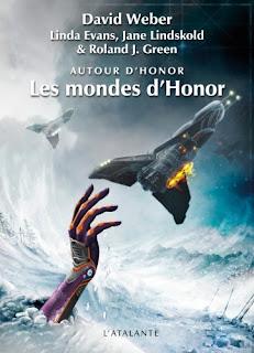 Couverture livre - critique littéraire - Les mondes d'Honor - Honor Harrington