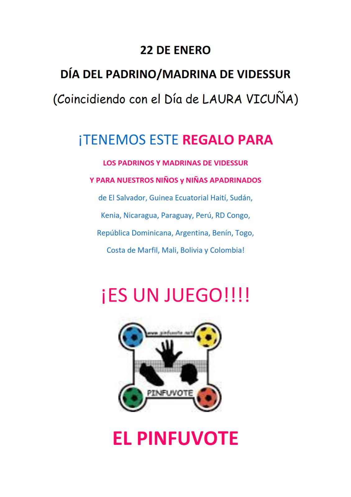 a3cbf3f664 Videssur ONGD   DIA DEL PADRINO Y MADRINA 2017