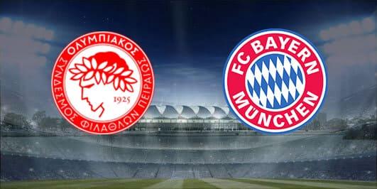 مباراة بايرن ميونخ واوليمبياكوس بتاريخ 06-11-2019 دوري أبطال أوروبا