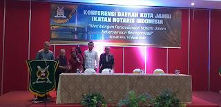 Ketua Pengwil INI Jambi Secara Resmi Membuka Konferda INI Kota Jambi.