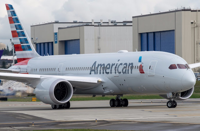 Boeing 787-8 of American Airlines