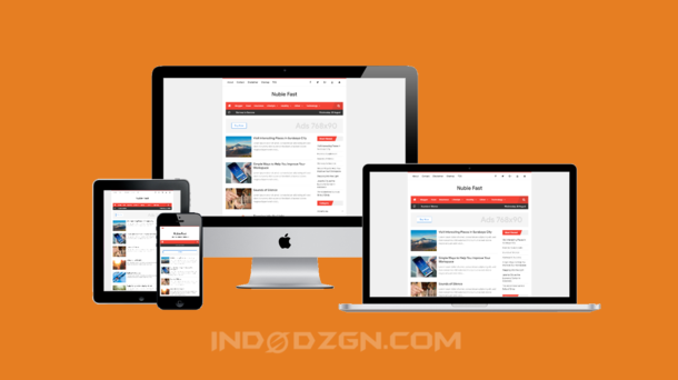 nubie fast blogger template, fast loading blogger template, high ctr blogger template