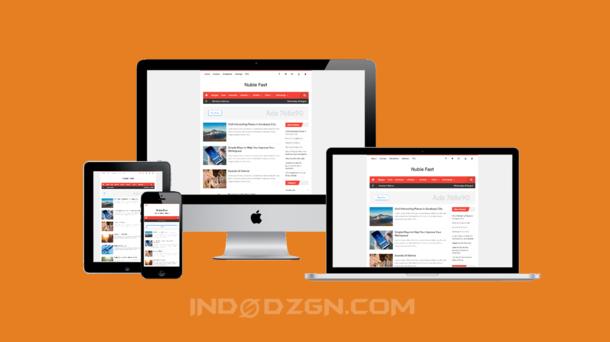 Nubie Fast Premium Blogger Template