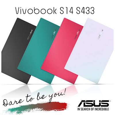 Pilihan warna Asus vivobook S14 S433