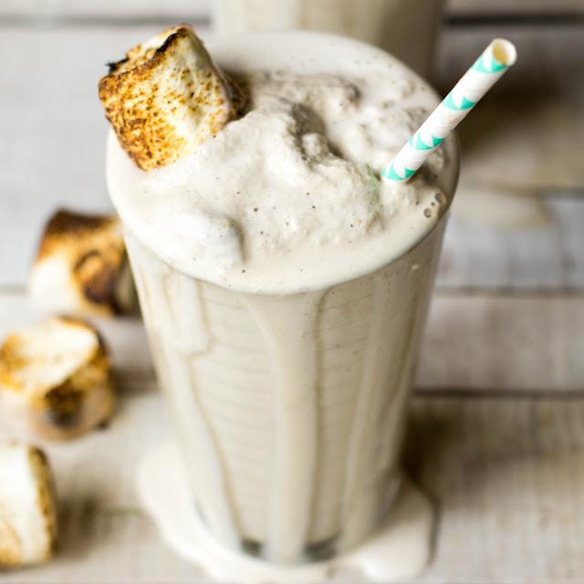 How to Make Toasted Marshmallow Milk Shake