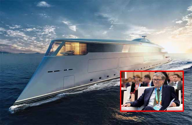Bill Gate and his £500M Hydrogen-Powered Super Yacht