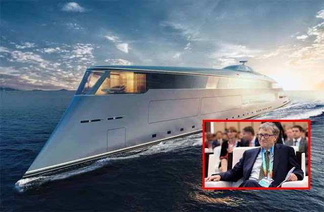 +VIDEO: Bill Gates Becomes First To Buy A £500M Hydrogen-Powered Super Yacht