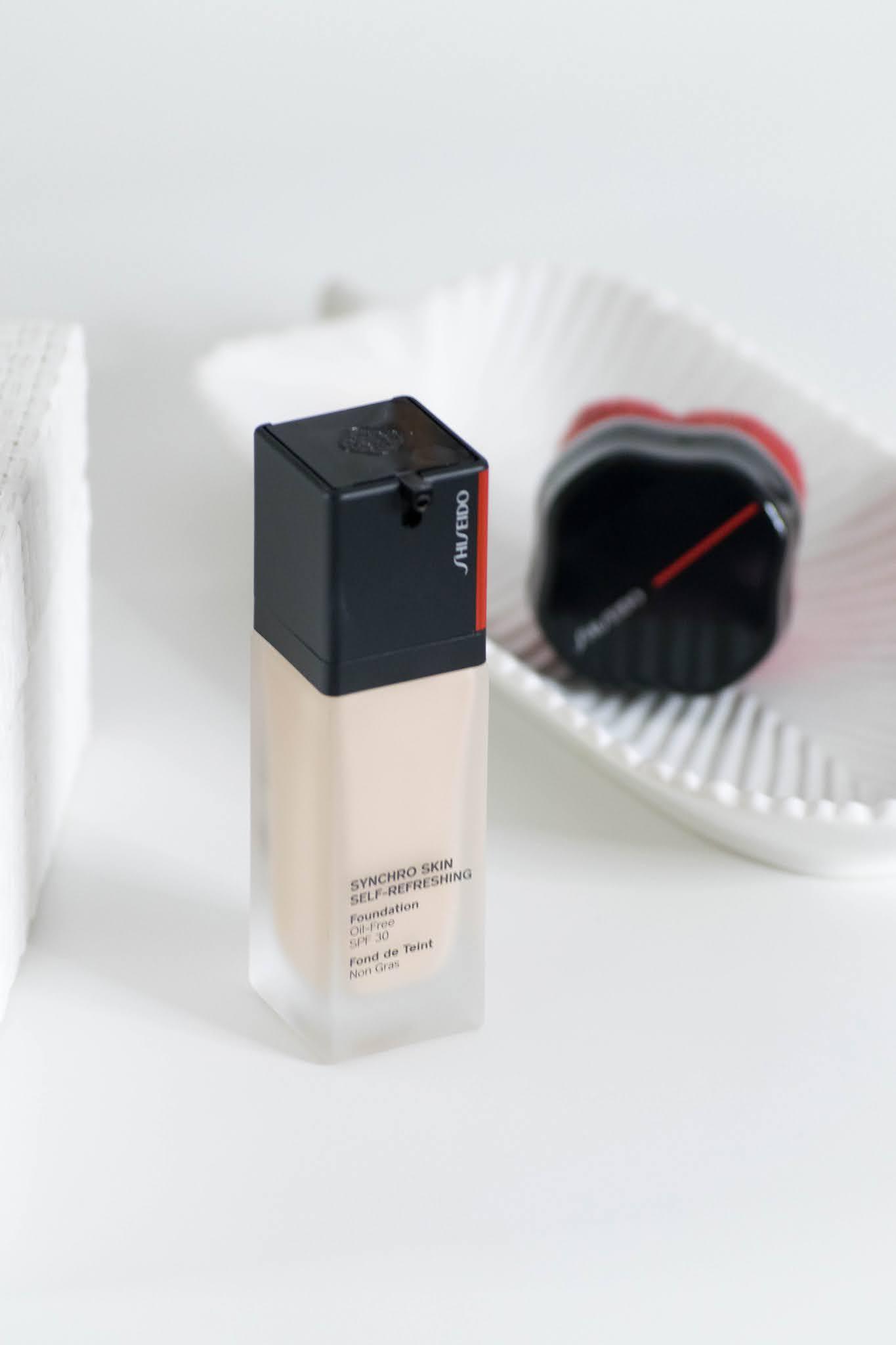 embalagem shiseido synchro skin self refreshing