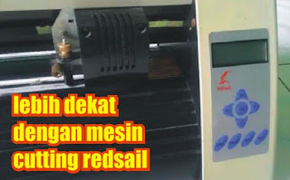 mesin cutting redsail