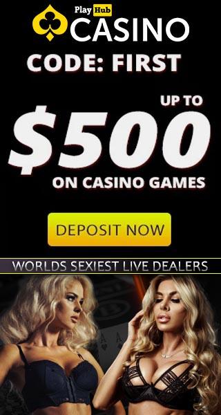 Sexy Slots And Live Casino Deposit Bonus (NSFW) - PlayHub Casino