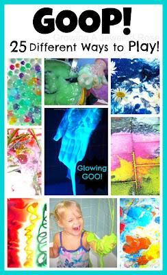 Goop Sensory Activities