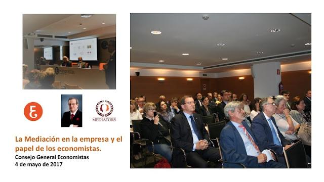 La Mediación en la empresa y el papel de los economistas.