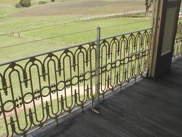 Verandah railings, Glengallan Homestead, Queensland, Australia. Photo by Loire Valley Time Travel.