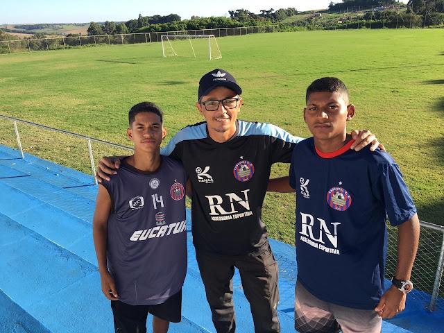 Primaverenses são destaque no futebol  do estado do Paraná