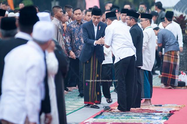 FOTO : Presiden Joko Widodo Ulang Kembali Sejarah 65 Tahun Silam