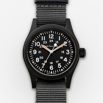 Hamilton Khaki Field Mechanical Black PVD
