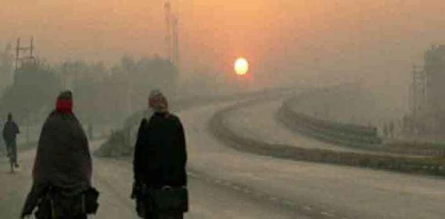 जयपुर में बढ़ने लगी ठंड