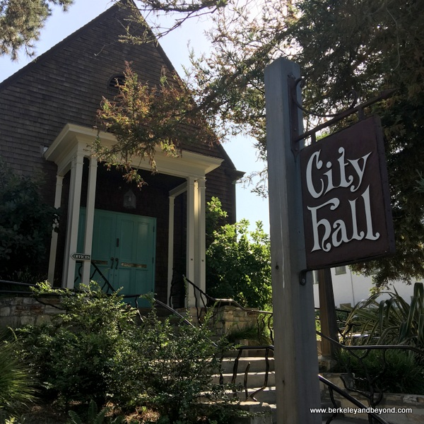 exterior of City Hall in Carmel, California