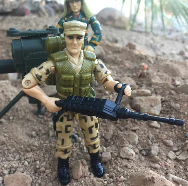 1988 Repater, Mean Dog, Sgt. Slaughter, Hardball, 1990 Sonic Fighters Viper, Tiger Force Dusty